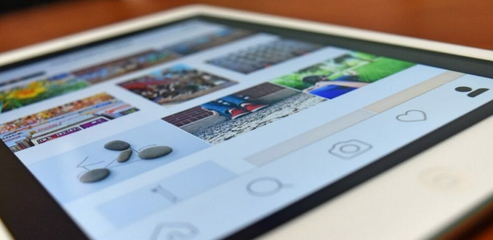 instagram tablet device technology