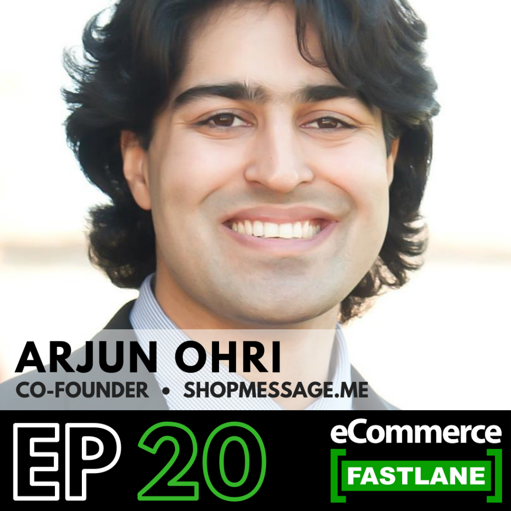 Episode 20: Learn Why Facebook Messenger Is The Ecommerce Channel For The Next Decade And How You Can Capitalize