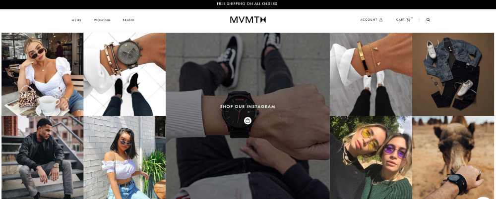 MVMT Watches Shop the Look Instagram