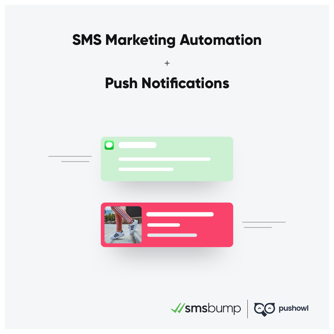 PushOwl and SMSBump Partnership: Customer retention, sales and revenue boost for your Shopify marketing strategy.
