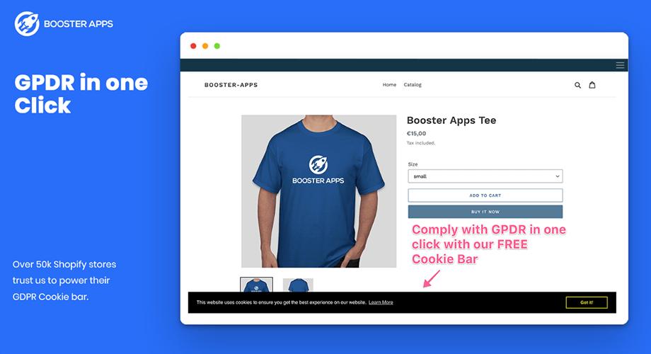 EU Cookie Bar