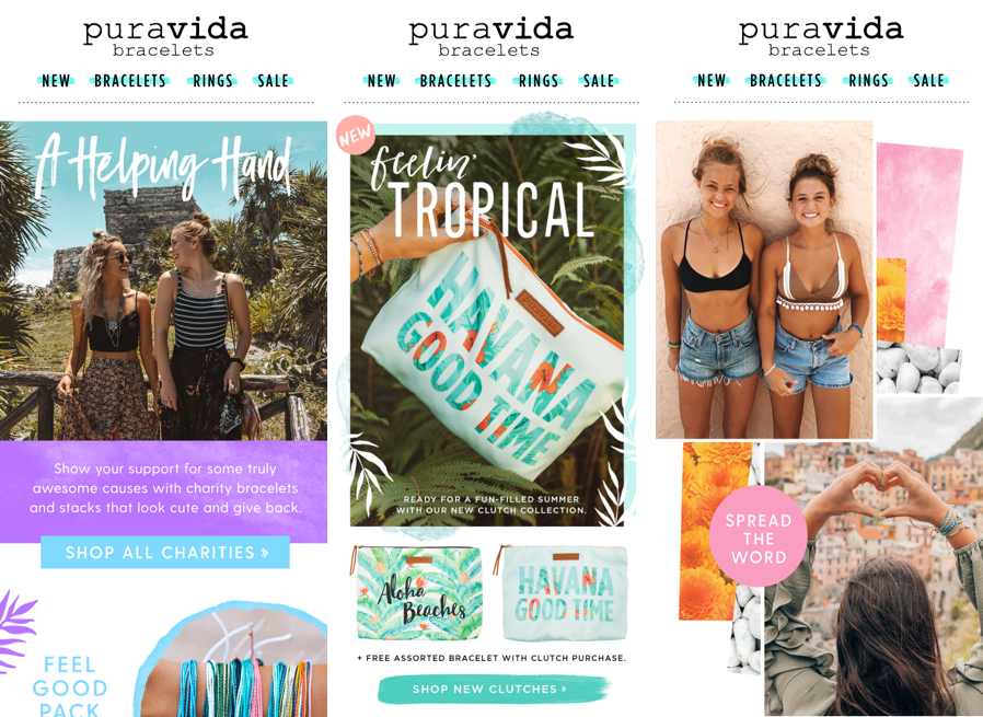puravida sales as part of omnichannel site experience