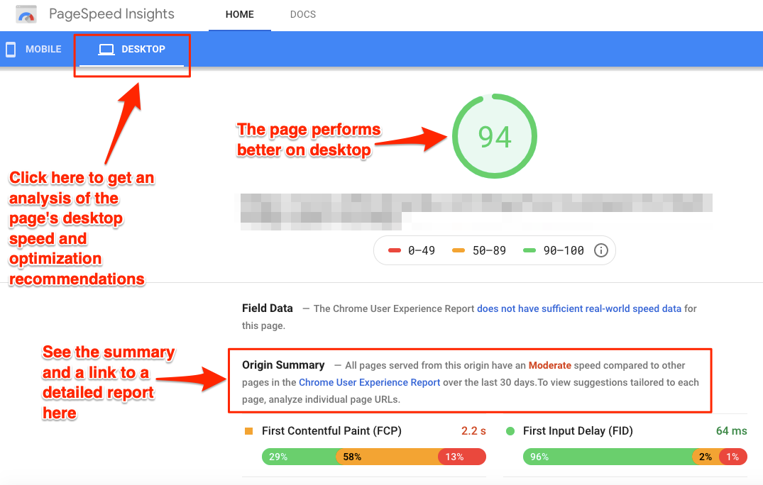PageSpeed Insights 3