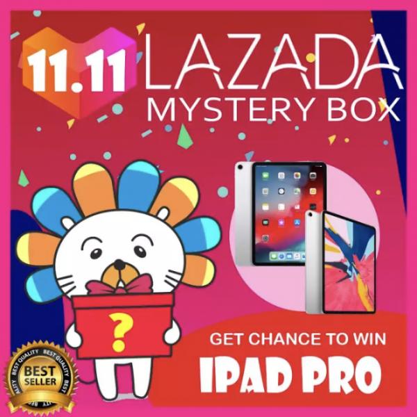 lazada singles day mystery box ipad pro