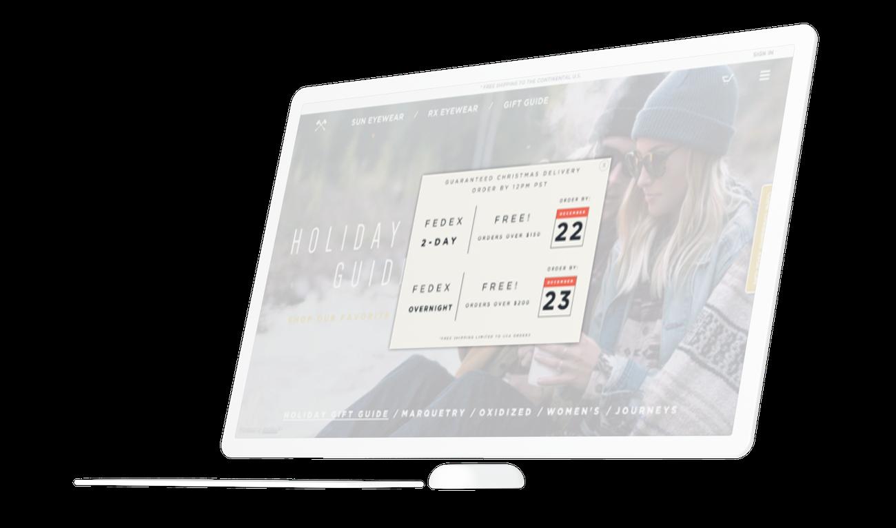 Shipping Deadline Promotion