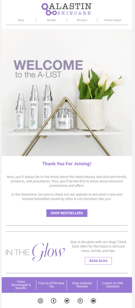 alastin-welcome-email-thank-you
