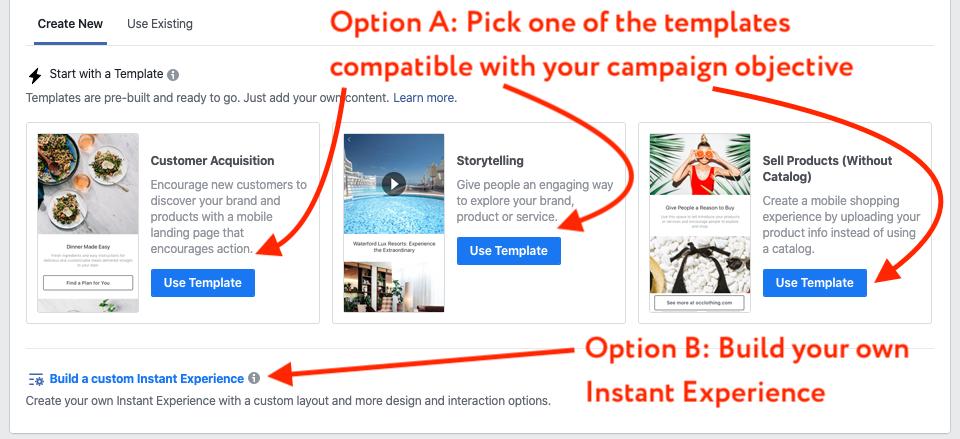 create instant ad 2