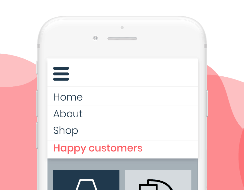 features page happy