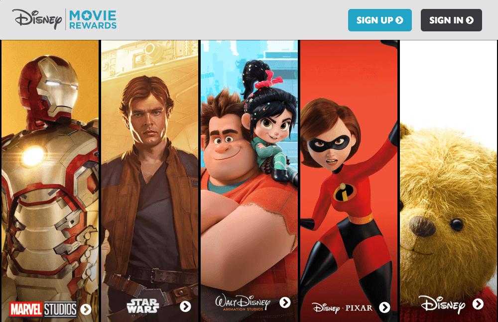 Best Brand Communities - Disney movie rewards home marvel starwars walt disney animation pixar