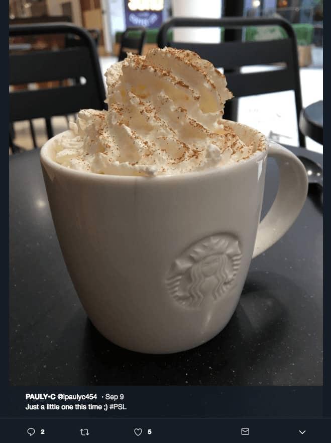 Best Brand Communities - Starbucks #psl twitter
