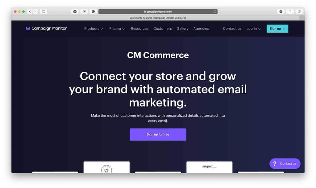 CM Commerce Email Marketing