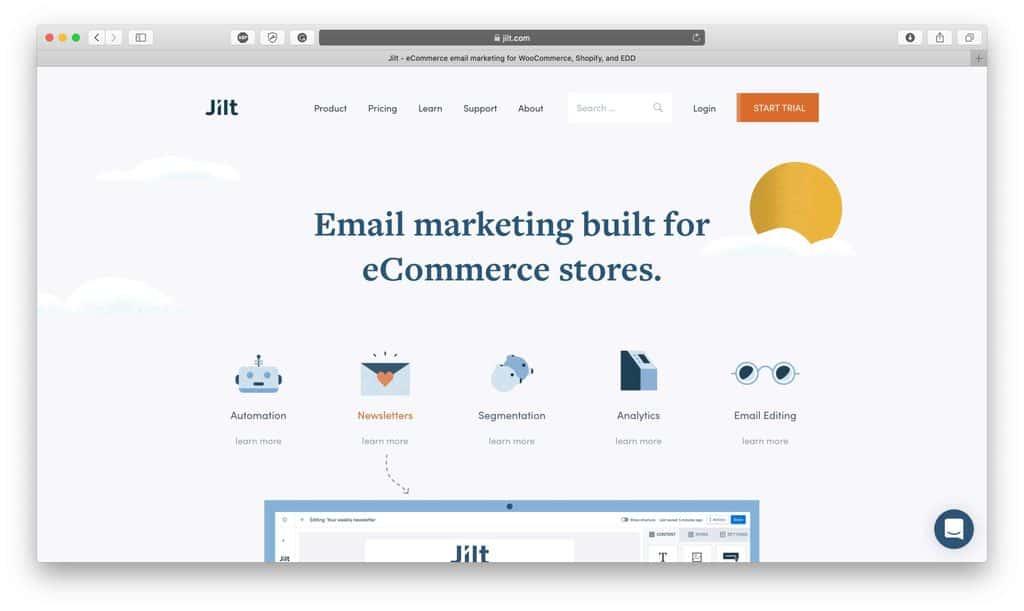 Jilt Email Marketing