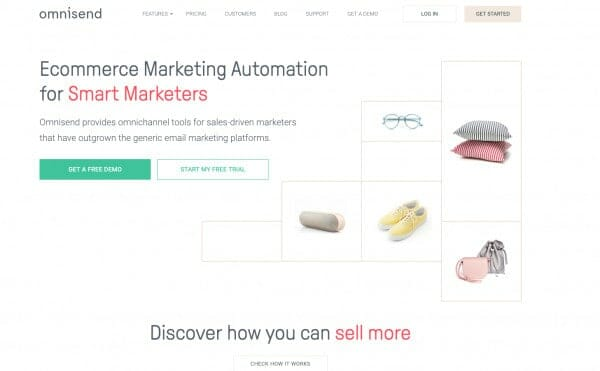 best shopify apps - grow ecommerce revenue omnisend email marketing ecommerce marketing automation