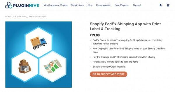 fedex shipping shopify