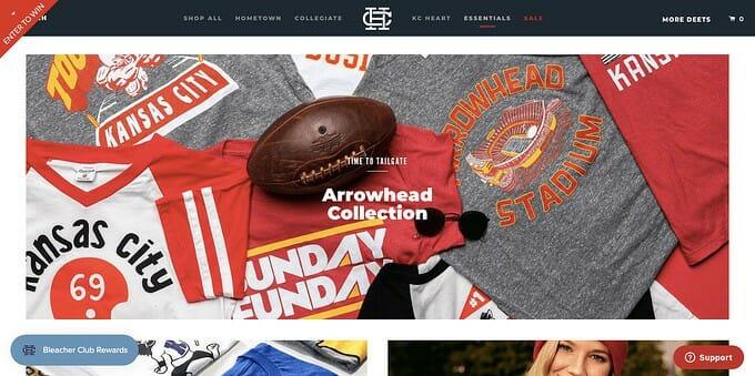 best brand communities - charlie hustle homepage
