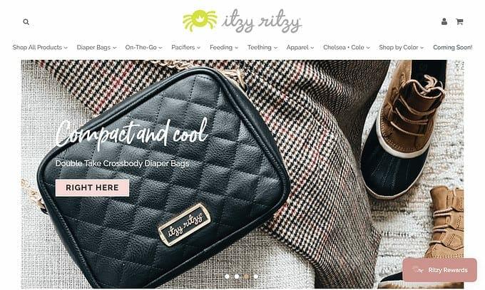best brand communities - itzy ritzy homepage