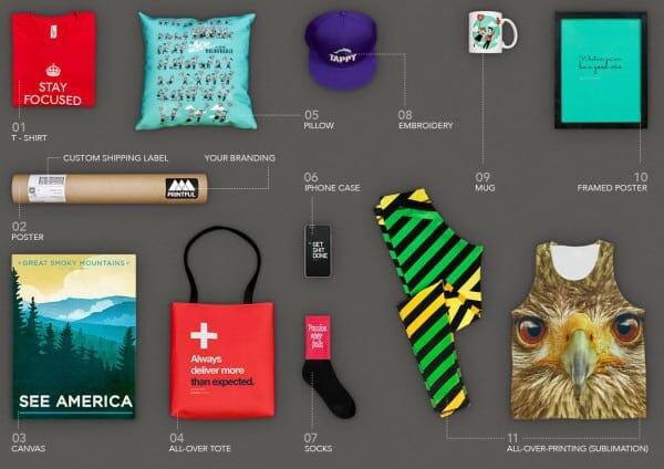 best shopify apps referralcandy - printful