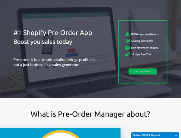 pre order manager 3