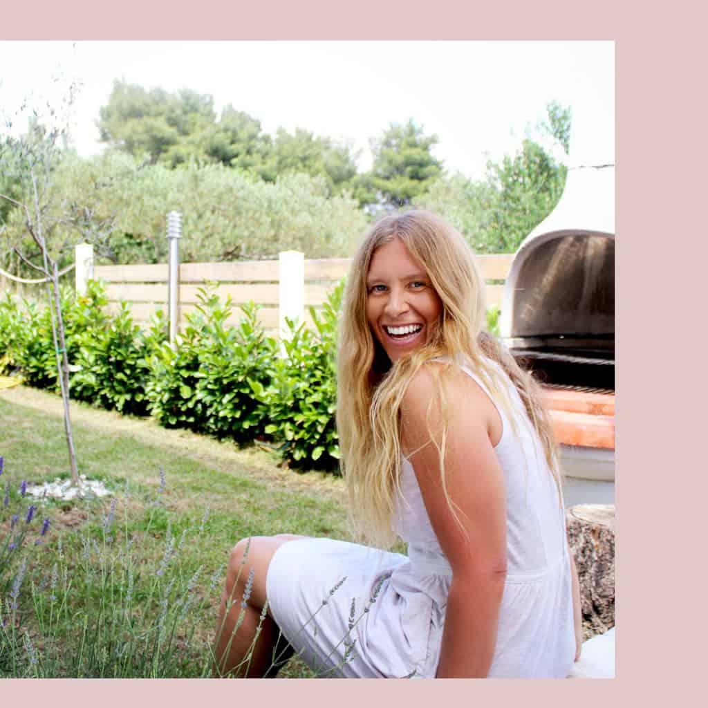 Hanna Sillitoe Sitting Outdoors