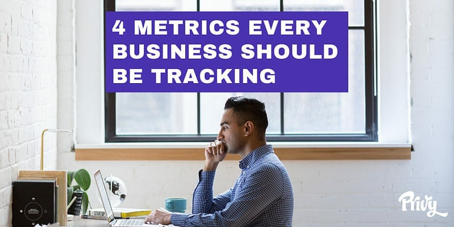 4 metrics every ecommerce business should track
