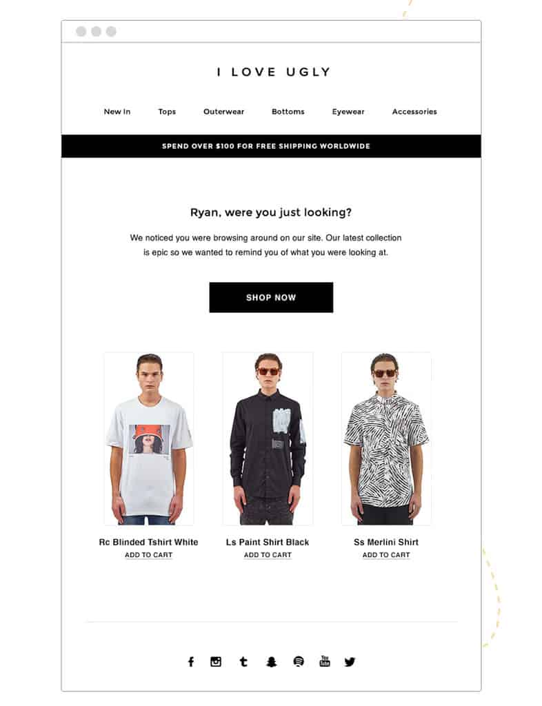 I-Love-Ugly-Browse-Abandonment-Email-Template-for-Ecommerce-1