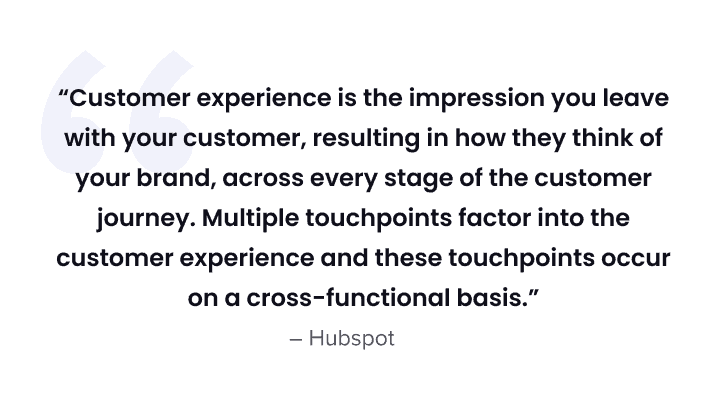 best customer experience - quote 1