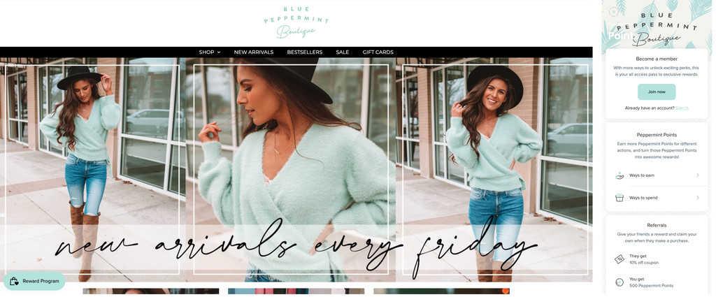 bluepeppermint boutique 2020