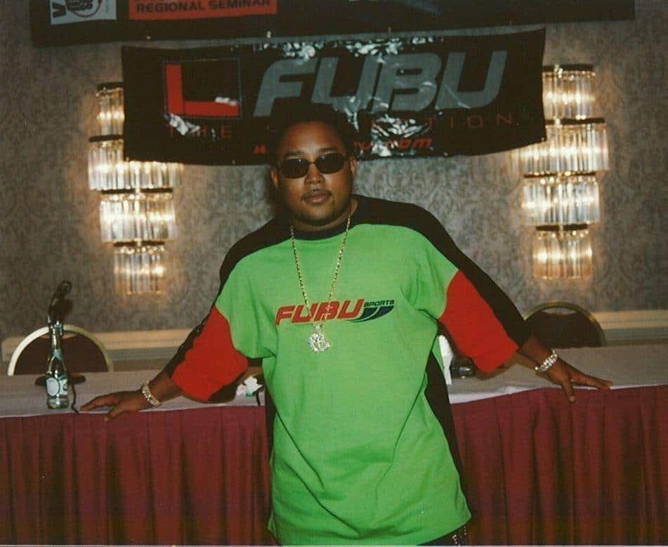 Daymond John, during the early days of FUBU