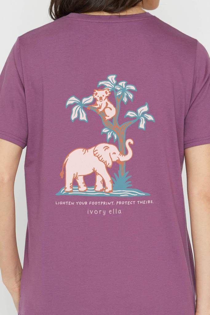 Ivory Ella limited edition clothes to support of the Australian wildlife rescue
