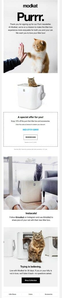 omnisend-modkat-welcome-email