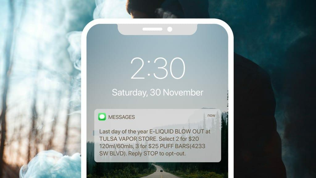 Marsello-Tulsa-Vapor-Store-SMS-Campaigns