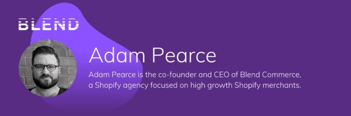 Adam Pearce Blend Commerce