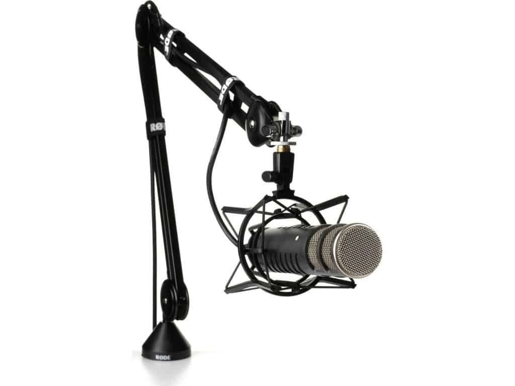Rode Podcaster Booming Kit Microphone