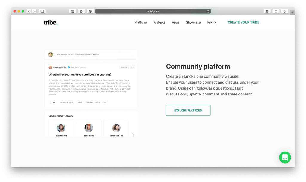 Tribe Community Platform Review