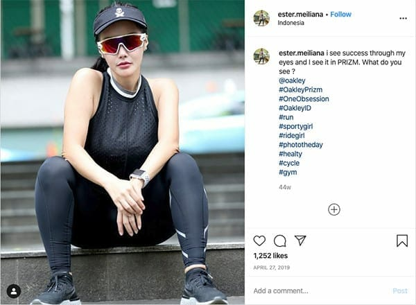 influencers and experiential marketing oakley influencer hashtag contest