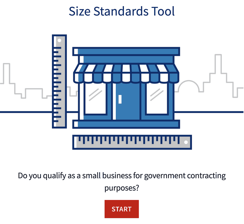 SBA Size Standards Tool