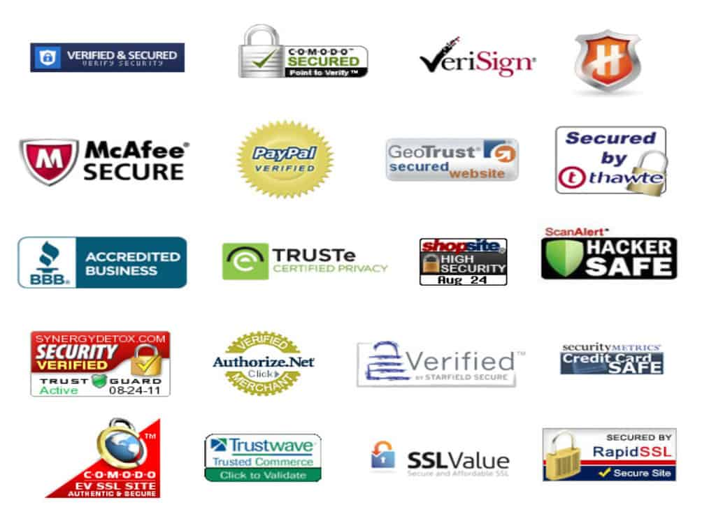 Logo garden of security emblems