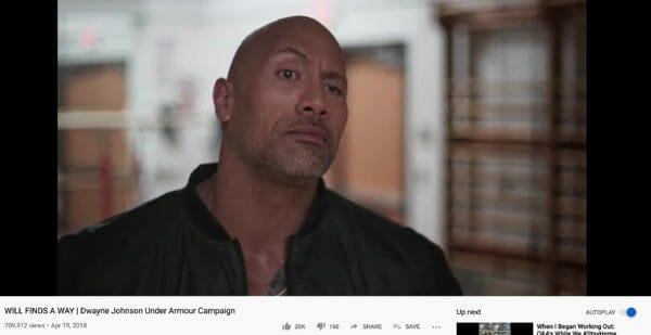 Underarmour Campaign Video Capture