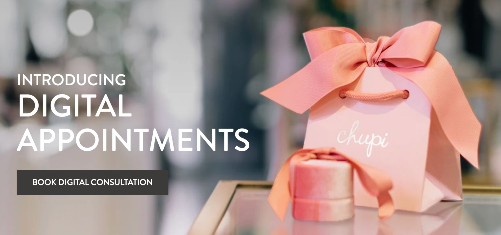 Chupi offers digital consultations so shoppers can still pick the right jewelry during COVID-19