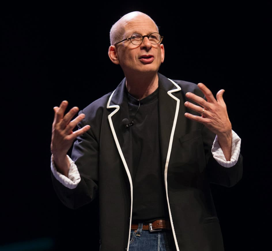 Seth Godin has spent a lifetime on the public speaking circuit, lecturing about leadership.