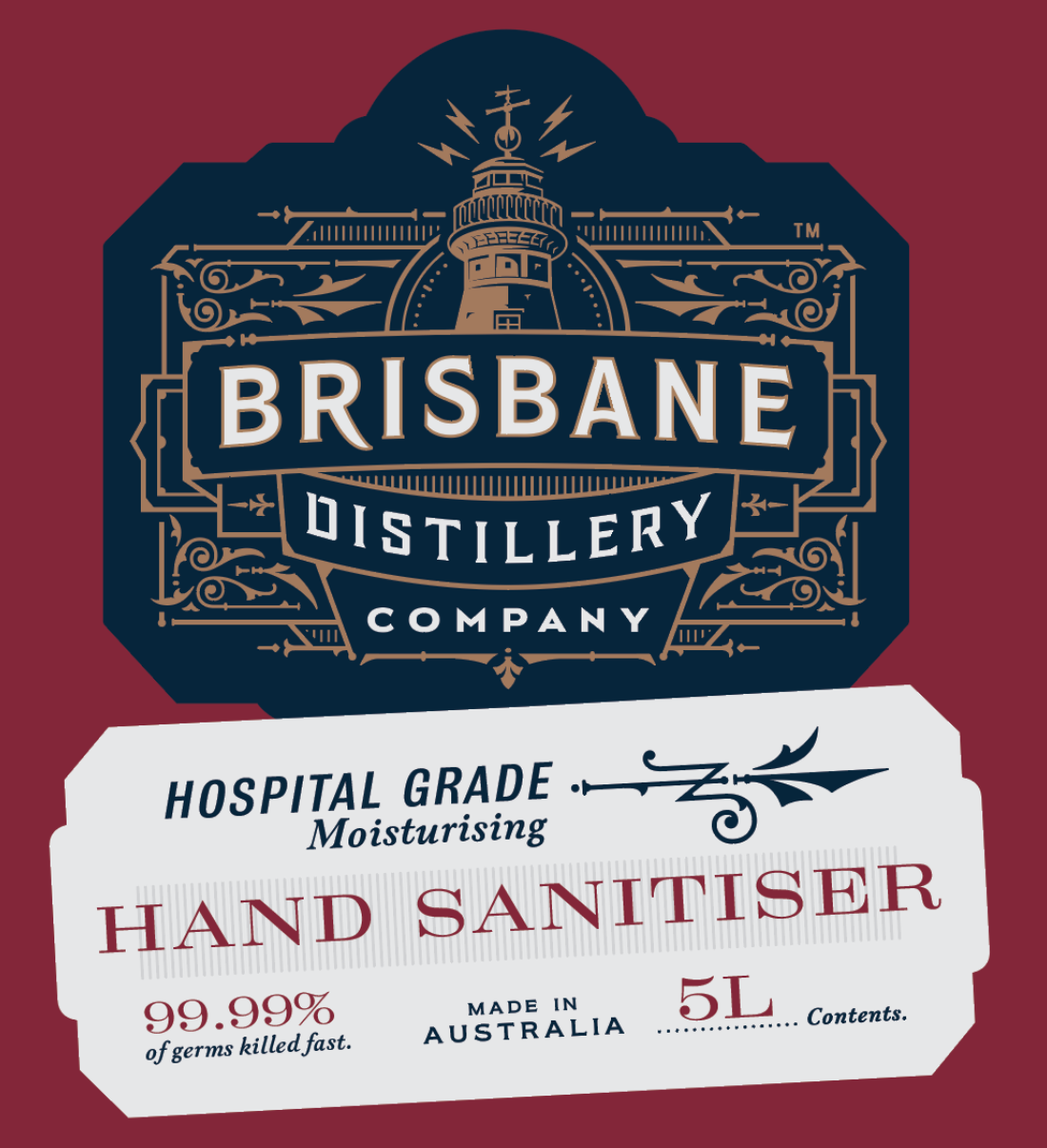 Brisbane Distillery is just one brand to pivot and offer to produce hand sanitizer for the world