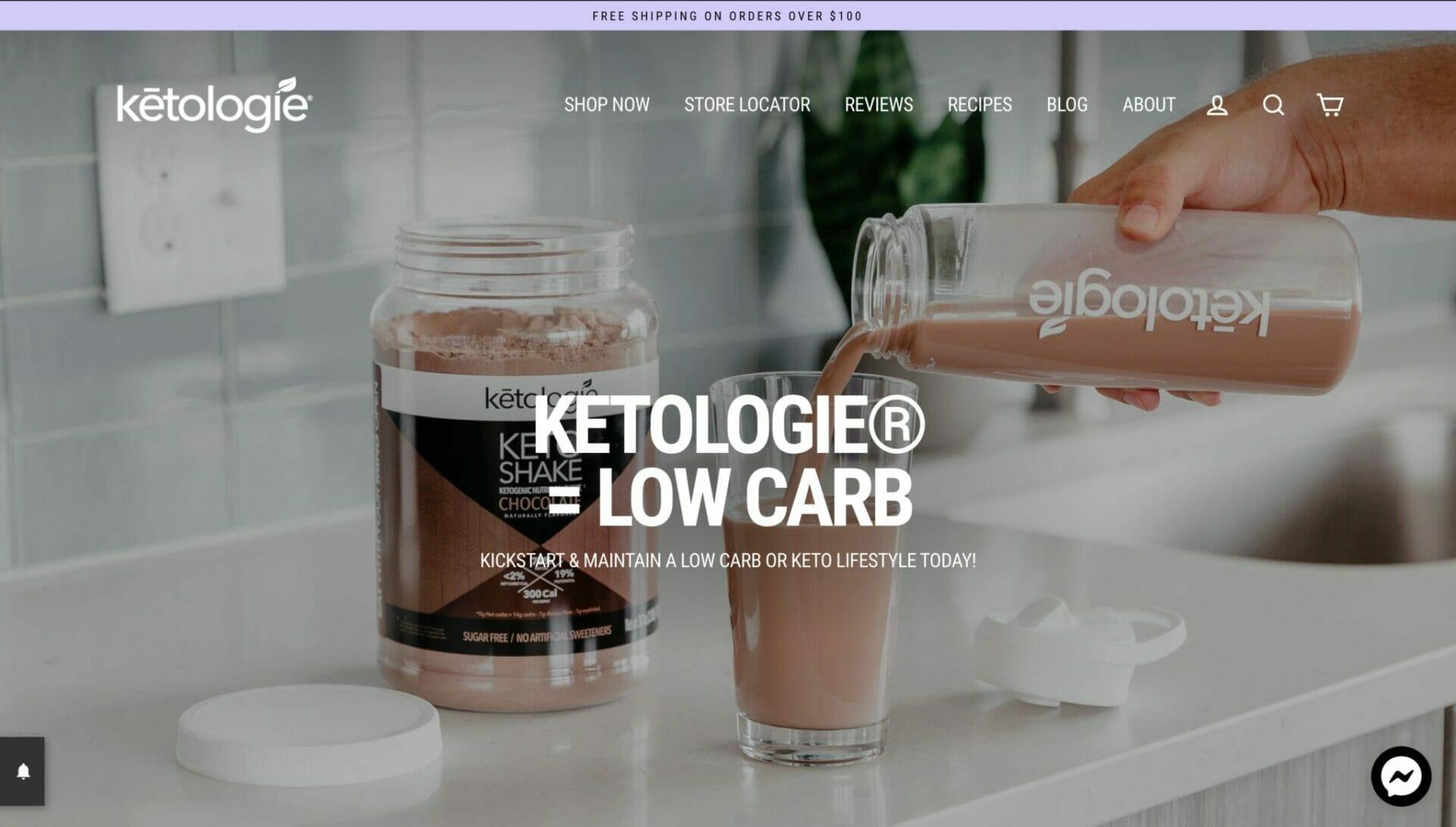 Ketologie homepage