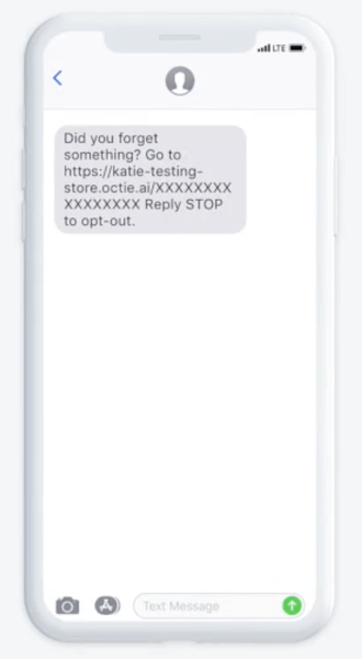 SMS example