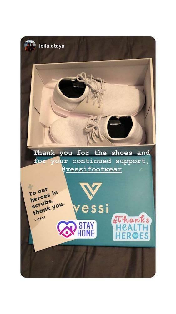 vessi donation