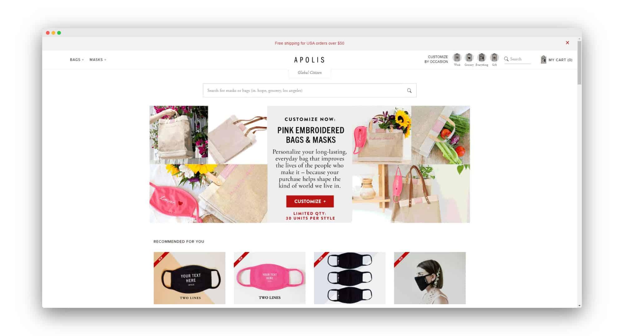 Apolis Direct to Consumer Brand