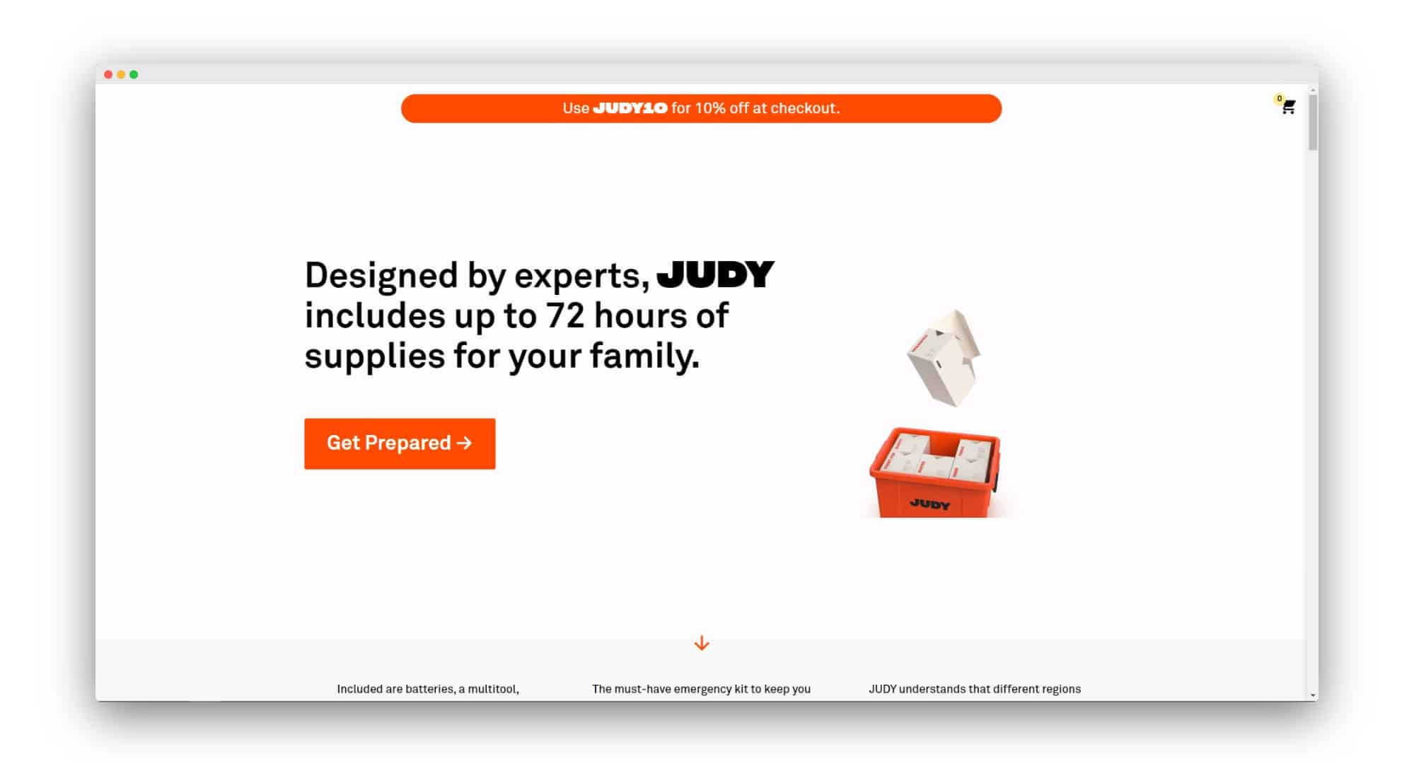 JUDY Direct to Consumer Businesses