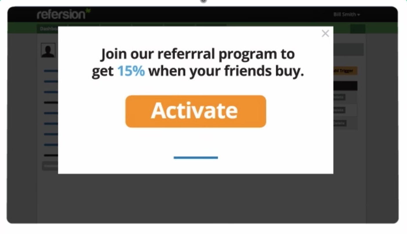Refersion referral example