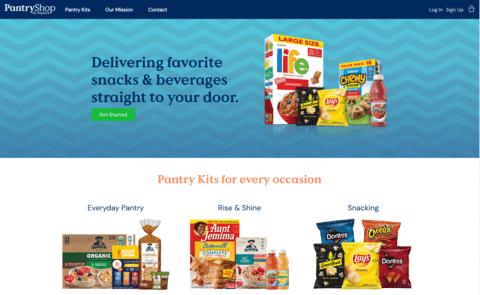 Pepsi PantryShop eCommerce Website