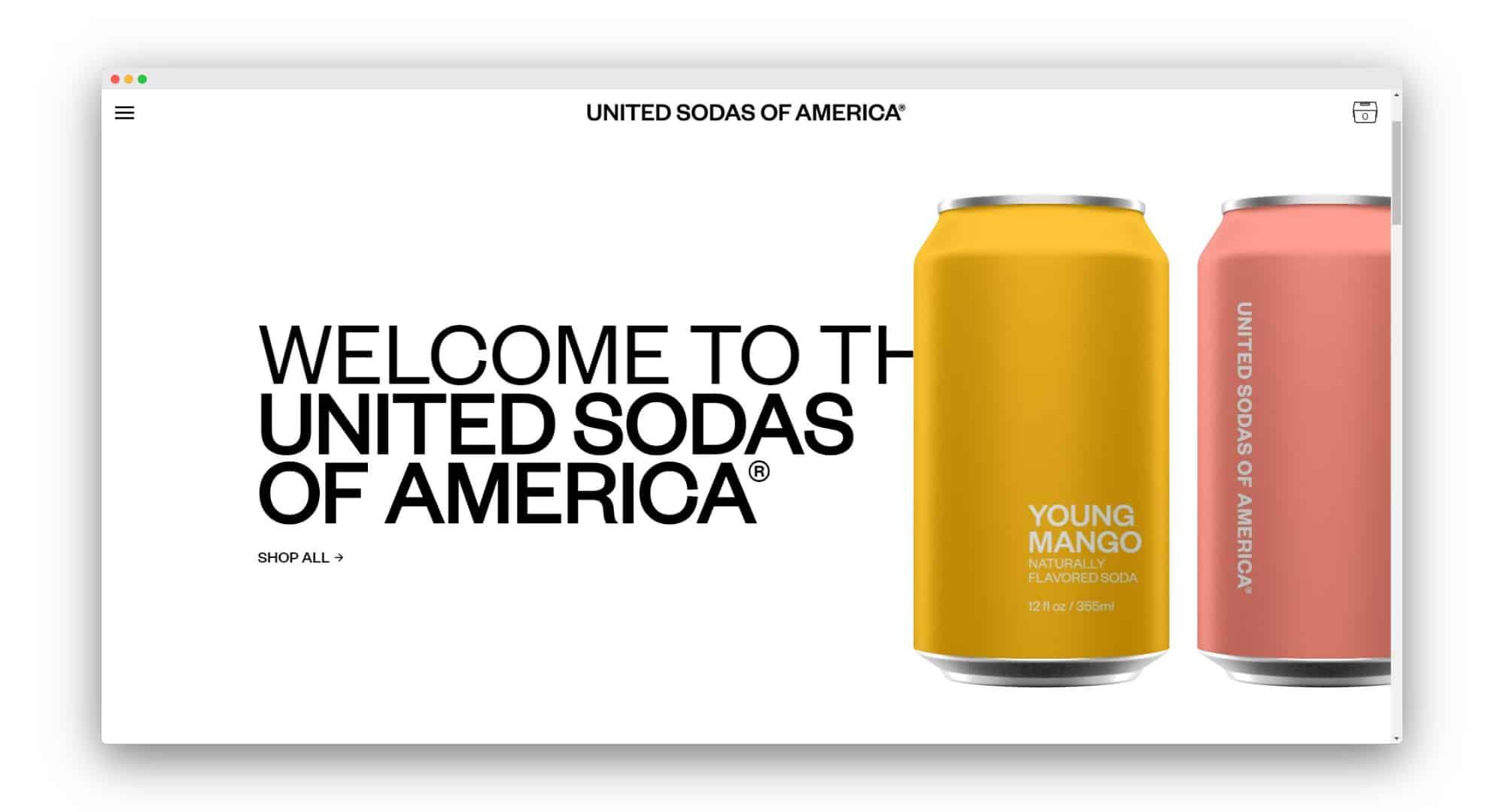 United Sodas DTC
