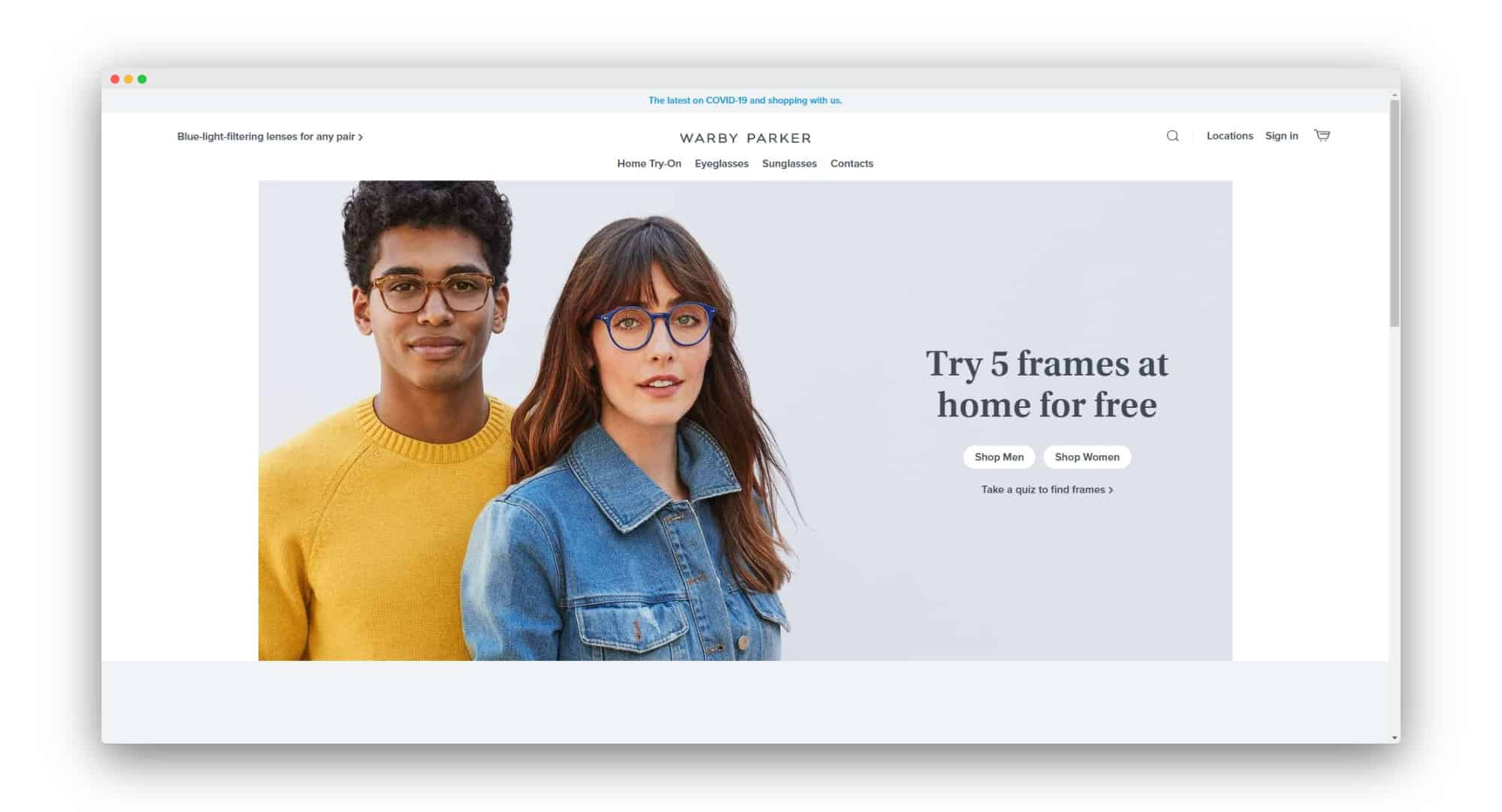 Warby Parker DTC Businesses